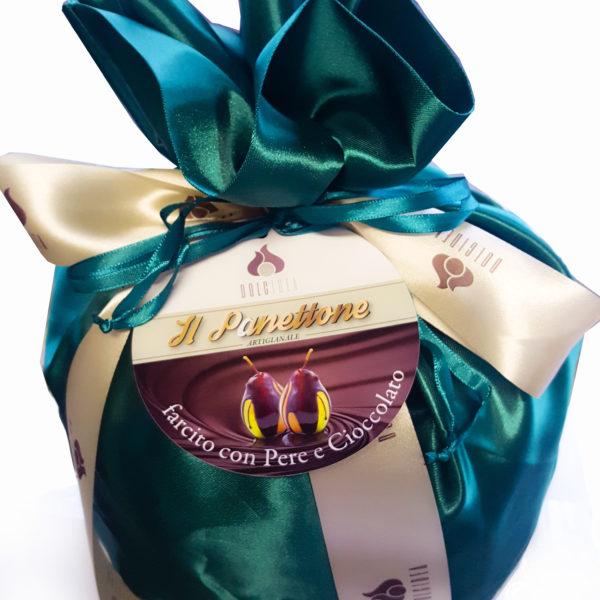 panettone pere e cioccolato